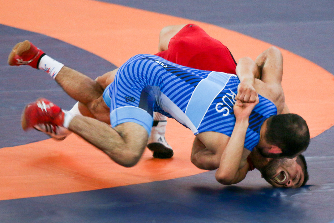 Russia and Japan feature heavily on day three of World University Wrestling Championships