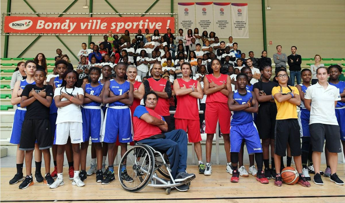 Paris 2024 organisers hold school visit to promote education through sport