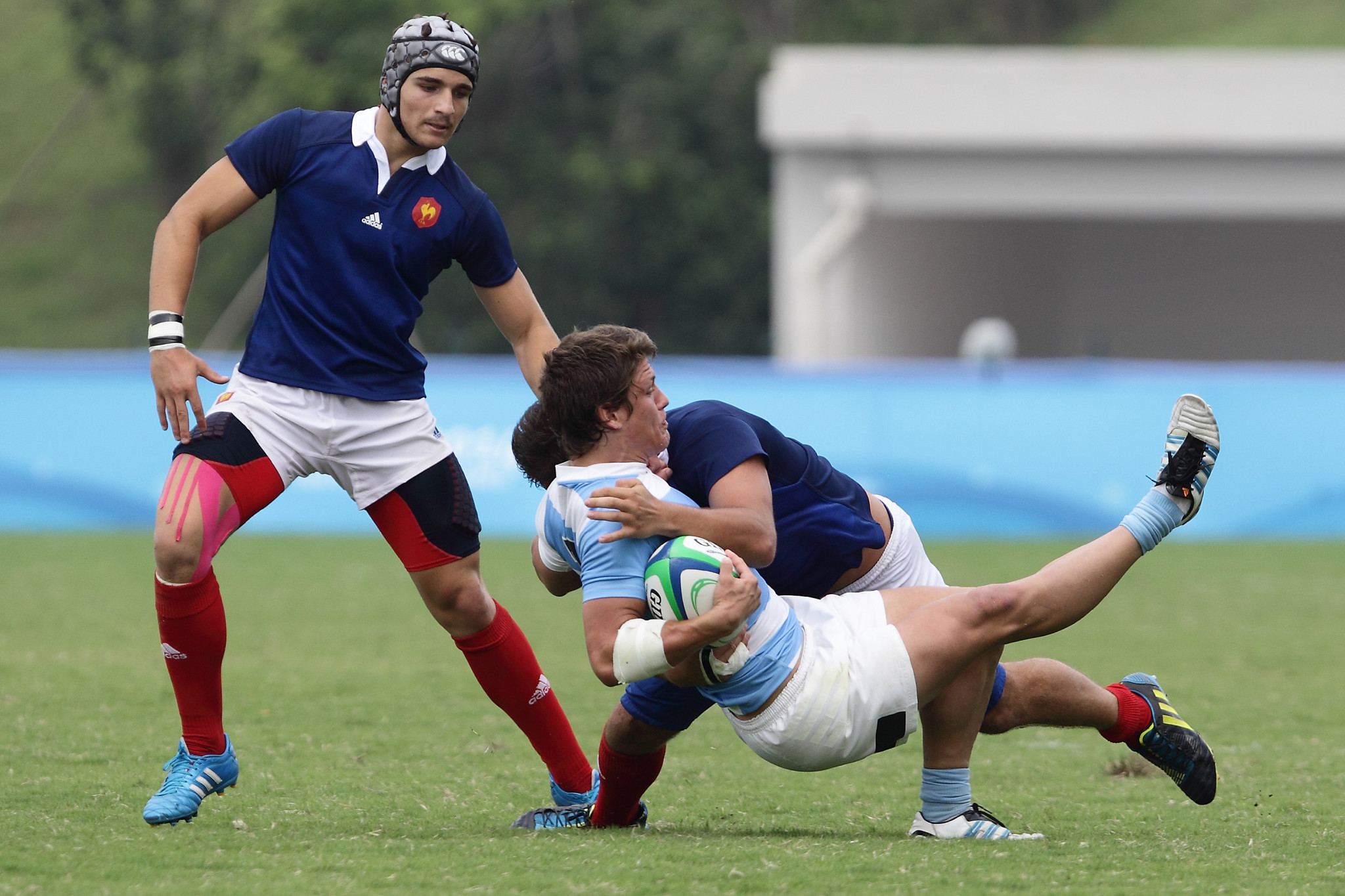 Rugby sevens made its Youth Olympic debut in Nanjing in 2014 ©Getty Images