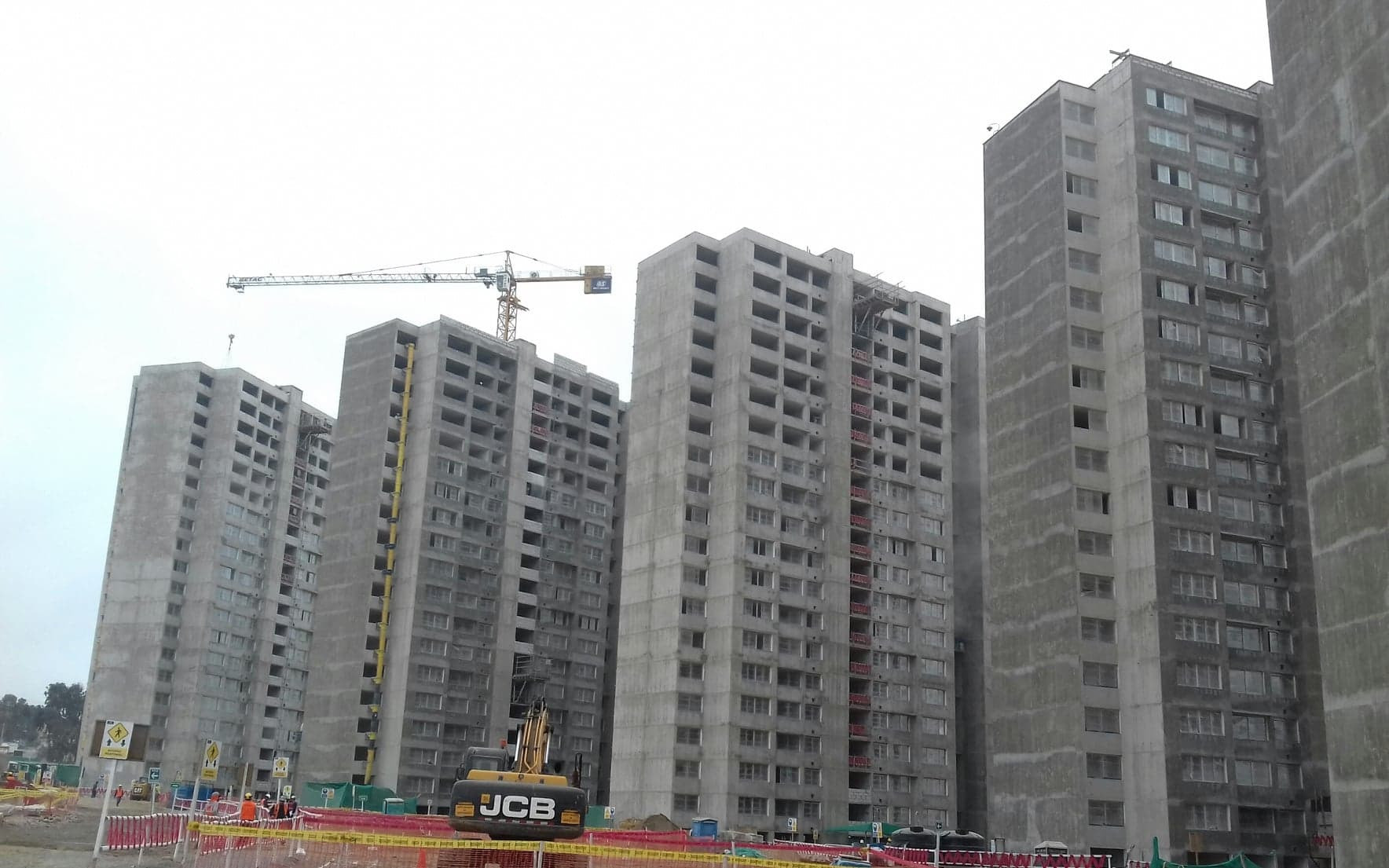 Progress at the Lima 2019 Athletes' Village has been praised by Panam Sports ©ITG