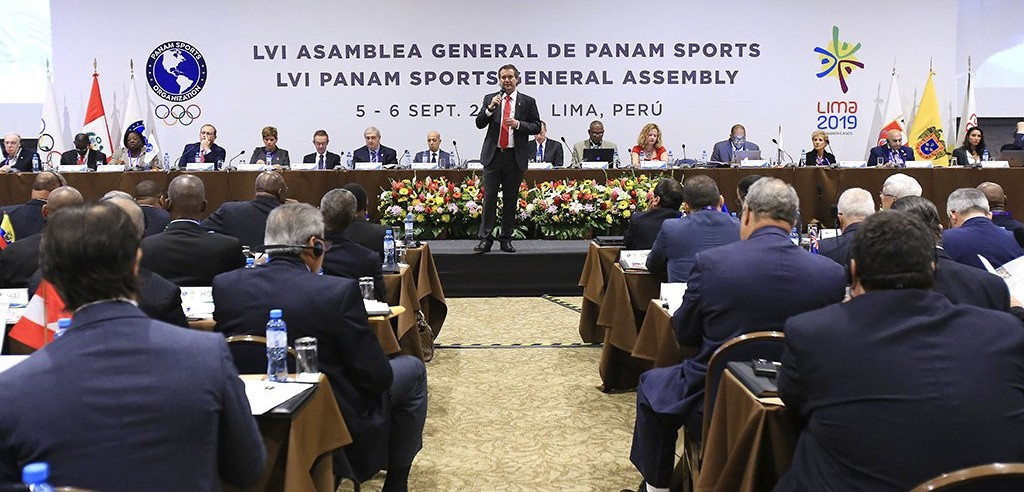 Plans for new events and a commercial programme were presented at the Panam Sports General Assembly ©Lima 2019