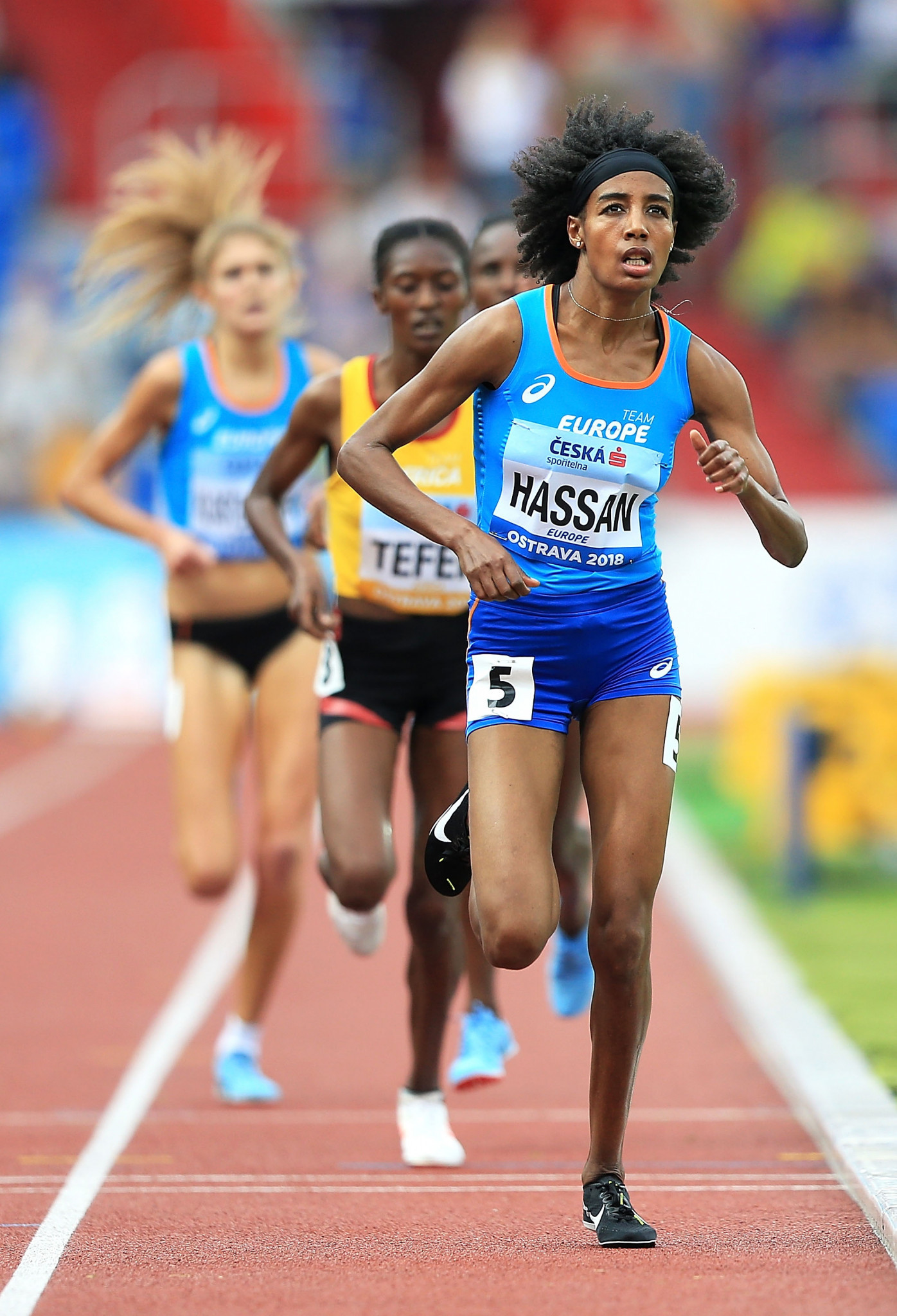 Hassan and Samba shine on dramatic opening day of IAAF Continental Cup