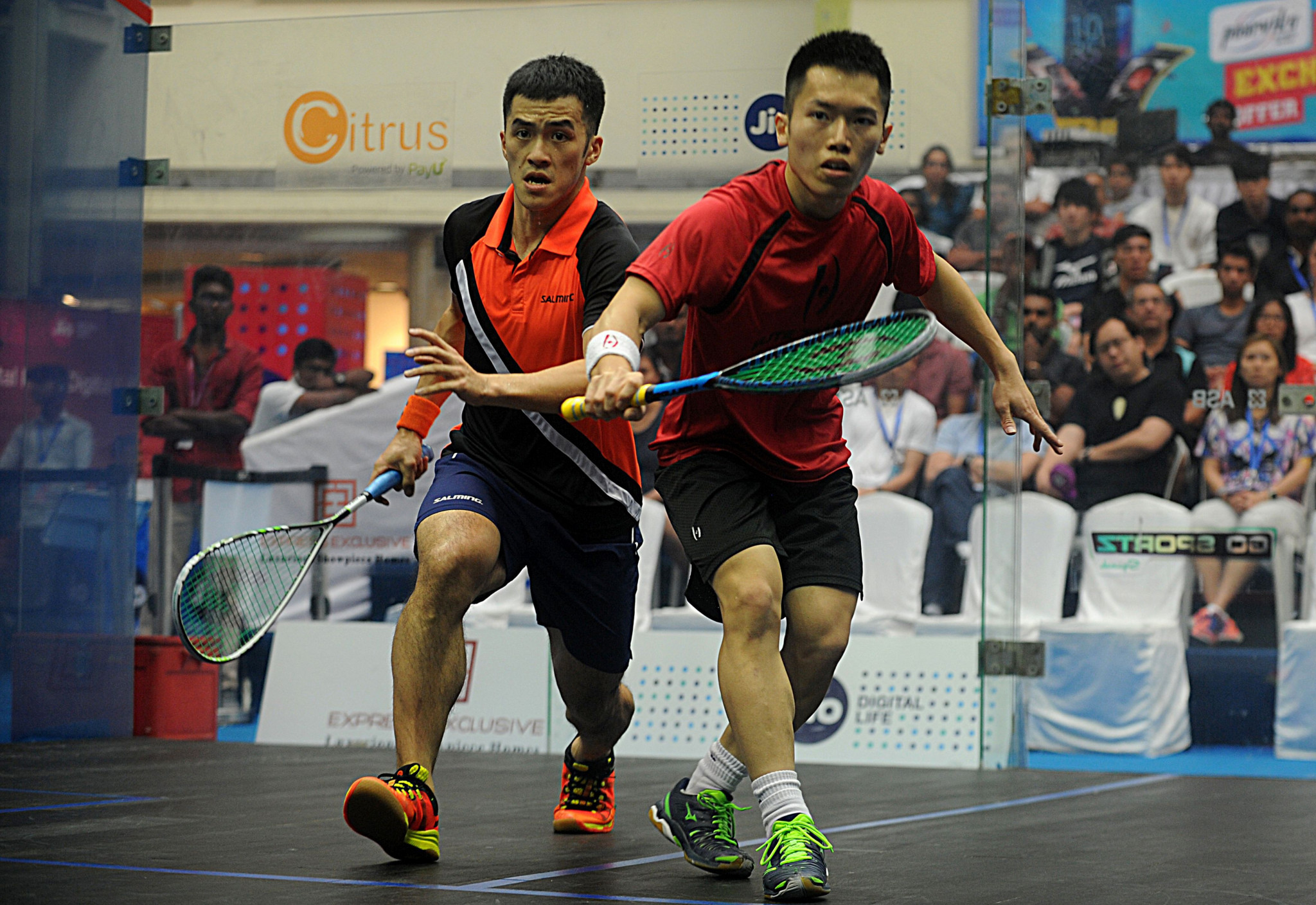 Tsz Fung Yip is the number one seed in Birmingham but will face Joshua Masters, the number two seed in the final ©FISU