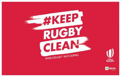 Rugby World Cup stars back biggest-ever #KeepRugbyClean anti-doping education day