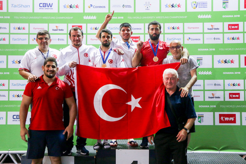 Turkey won four titles out of a possible five as the World University Wrestling Championships continued in Goiania in Brazil ©FISU