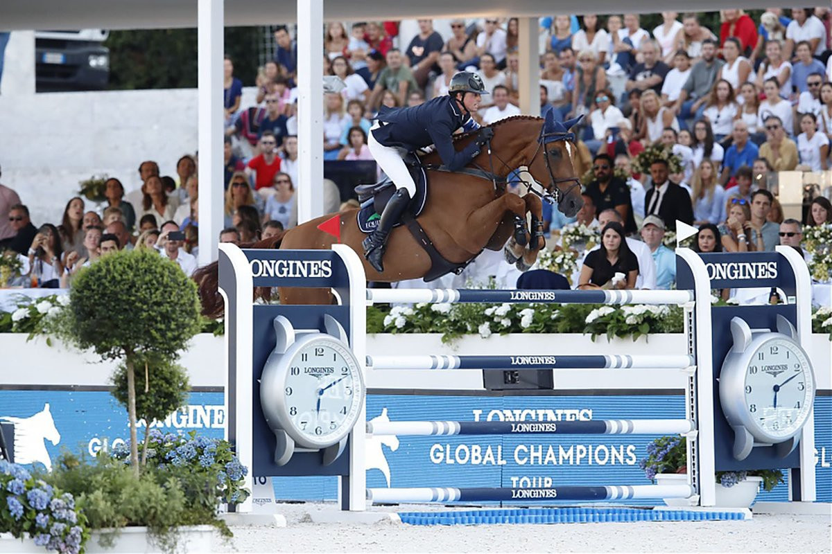 Maher wins in Rome to seal 2018 Longines Global Champions Tour title