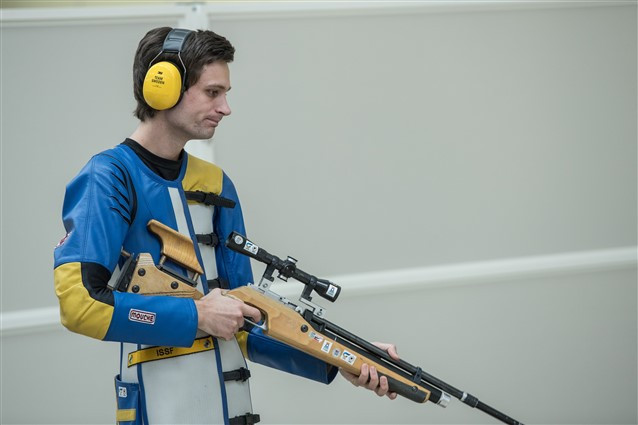 Sweden's Jesper Nyberg won his first World Championship title at the age of 24 ©ISSF