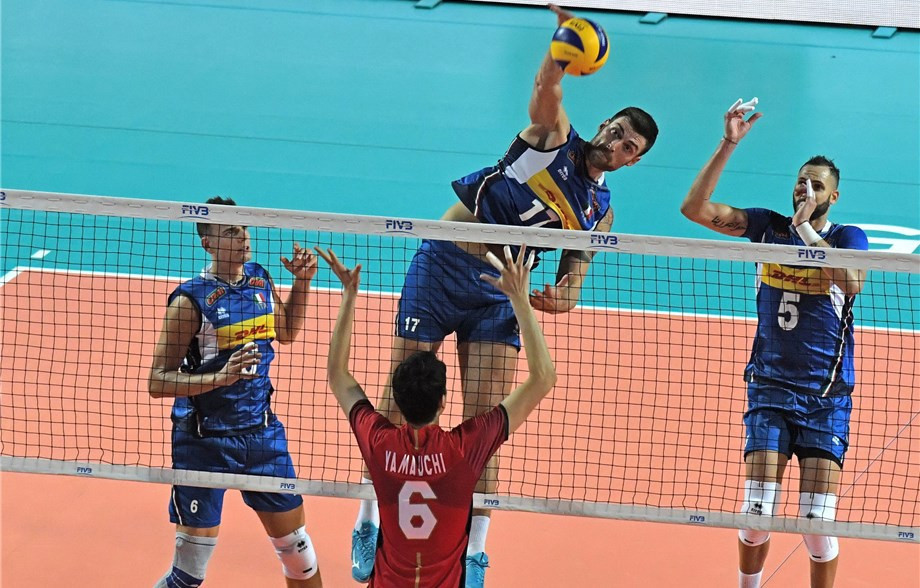 Both host nations win in straight sets as Volleyball Men's World Championship begins