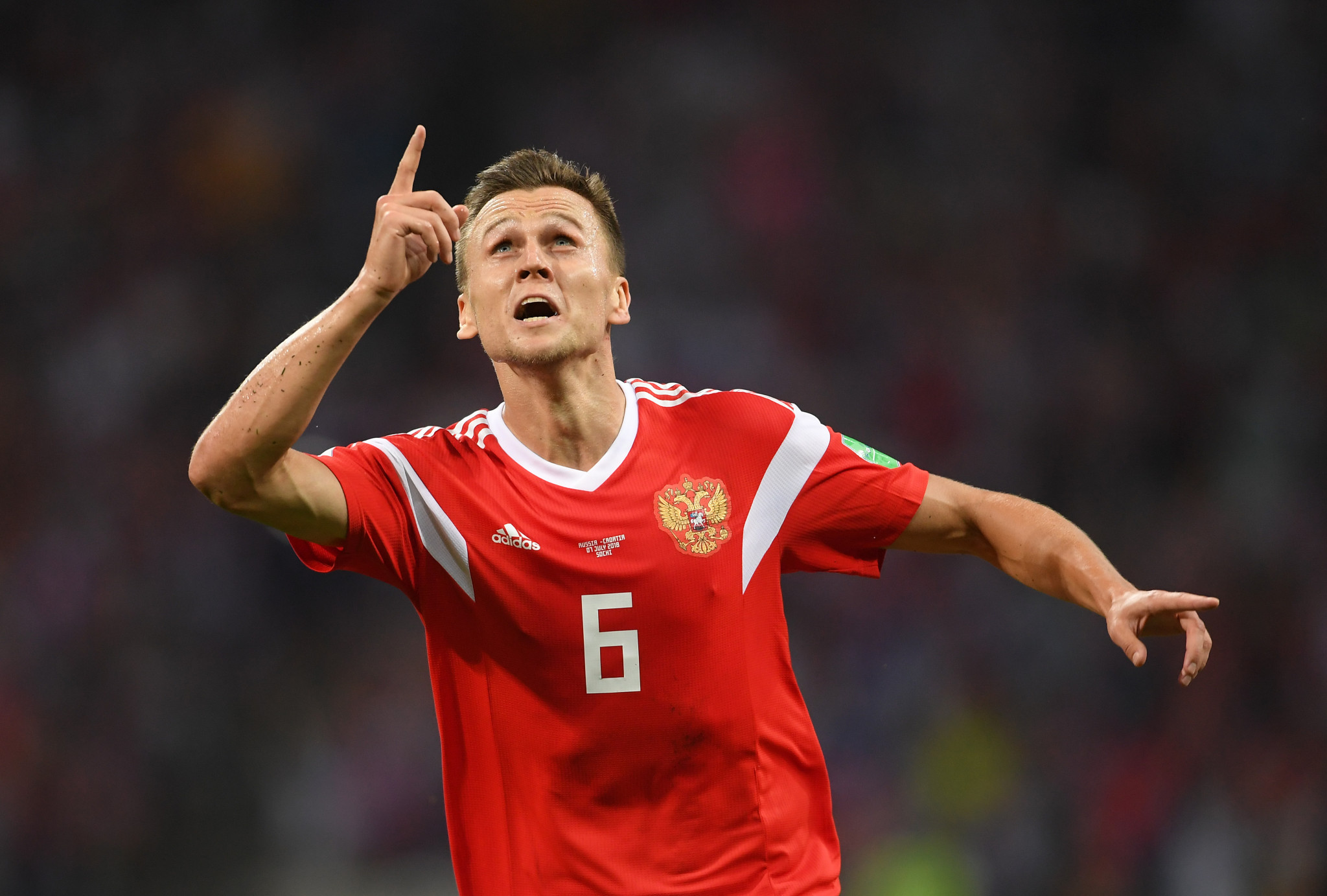Denis Cheryshev was a star for Russia at their home FIFA World Cup ©Getty Images