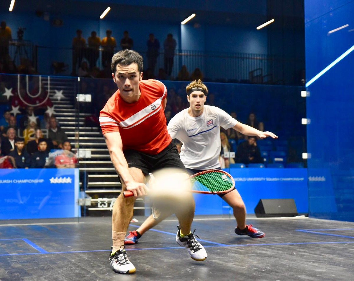 Great Britain claim double gold at World University Squash Championships