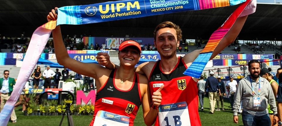 Germany win mixed relay gold on Pentathlon Day at UIPM World Championships
