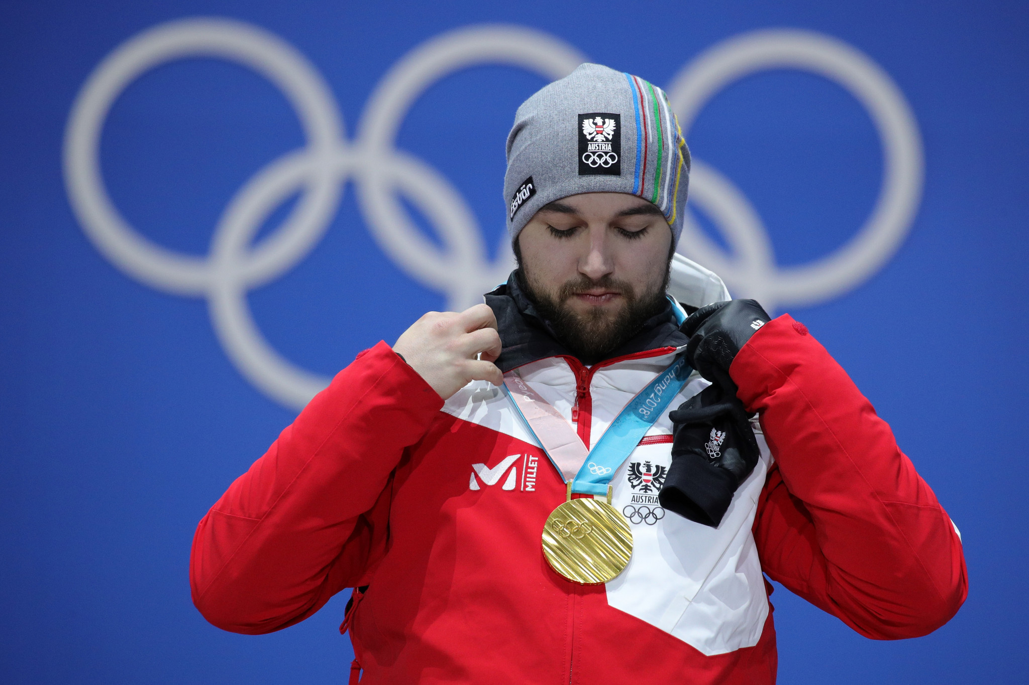 David Gleirscher won a surprise men's luge gold medal for Austria at the Pyeongchang 2018 Winter Olympics in South Korea in February ©Getty Images