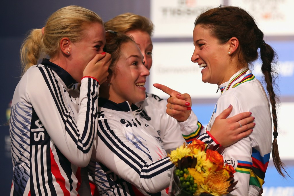 Armitstead sprints to elite women's title at World Road Cycling Championships