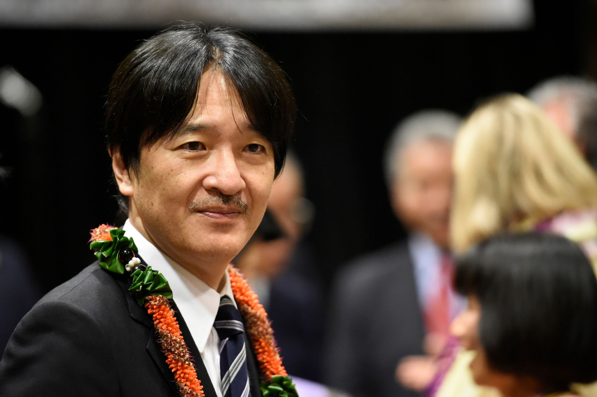 Prince Akishino has agreed to become honorary patron of the 2019 Rugby World Cup ©Getty Images