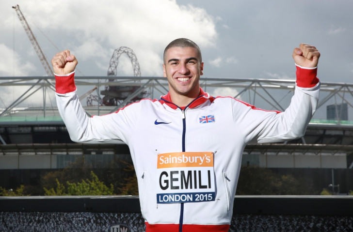 Sprinting star Gemili