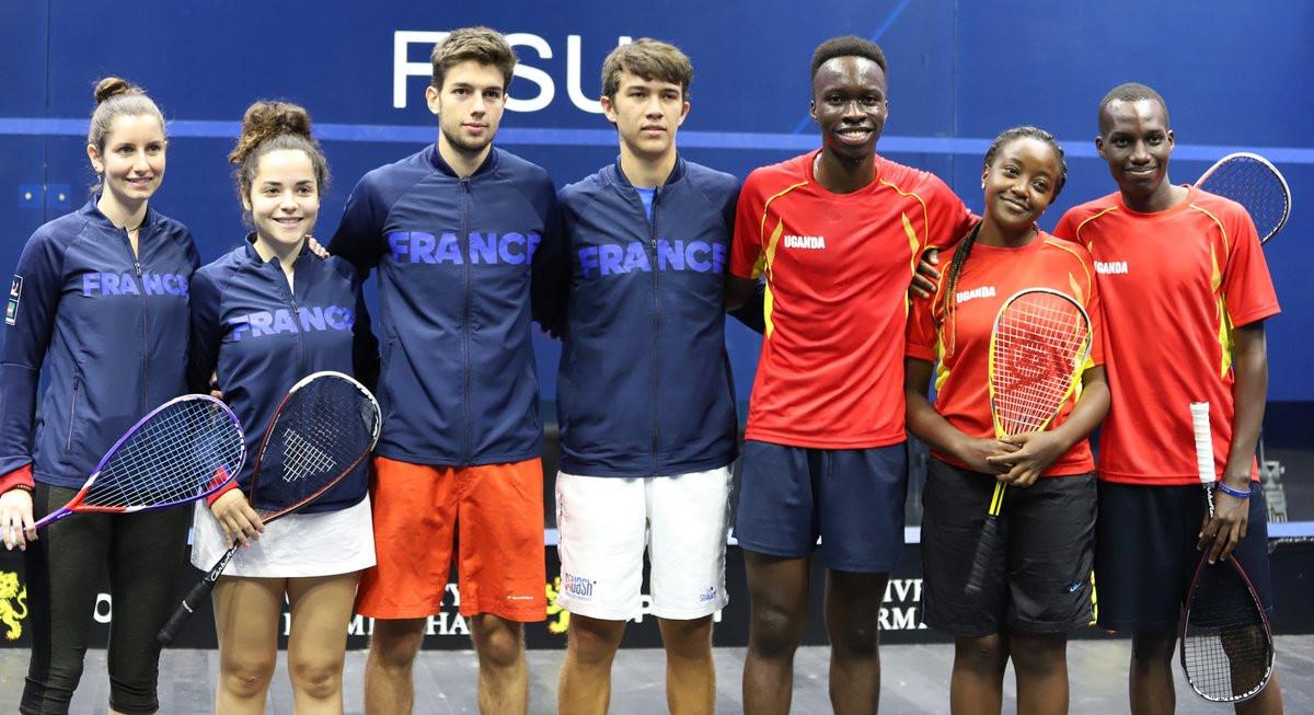Team event begins at World University Squash Championships