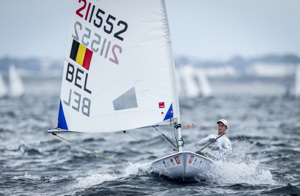 Racing begins in Sailing World Cup event at Tokyo 2020 venue