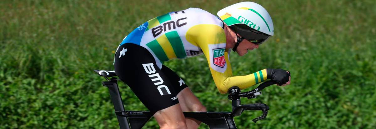Dennis wins second time trial at Vuelta a España as Yates keeps lead