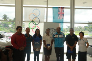 FASANOC officials attended alongside their Toyota counterparts and Fijian Olympic hopefuls ©FASANOC