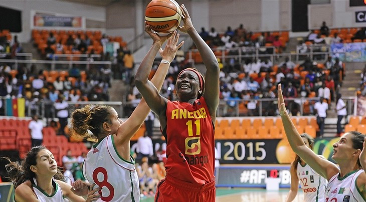 Defending champions Angola maintain 100 per cent start to Women's AfroBasket