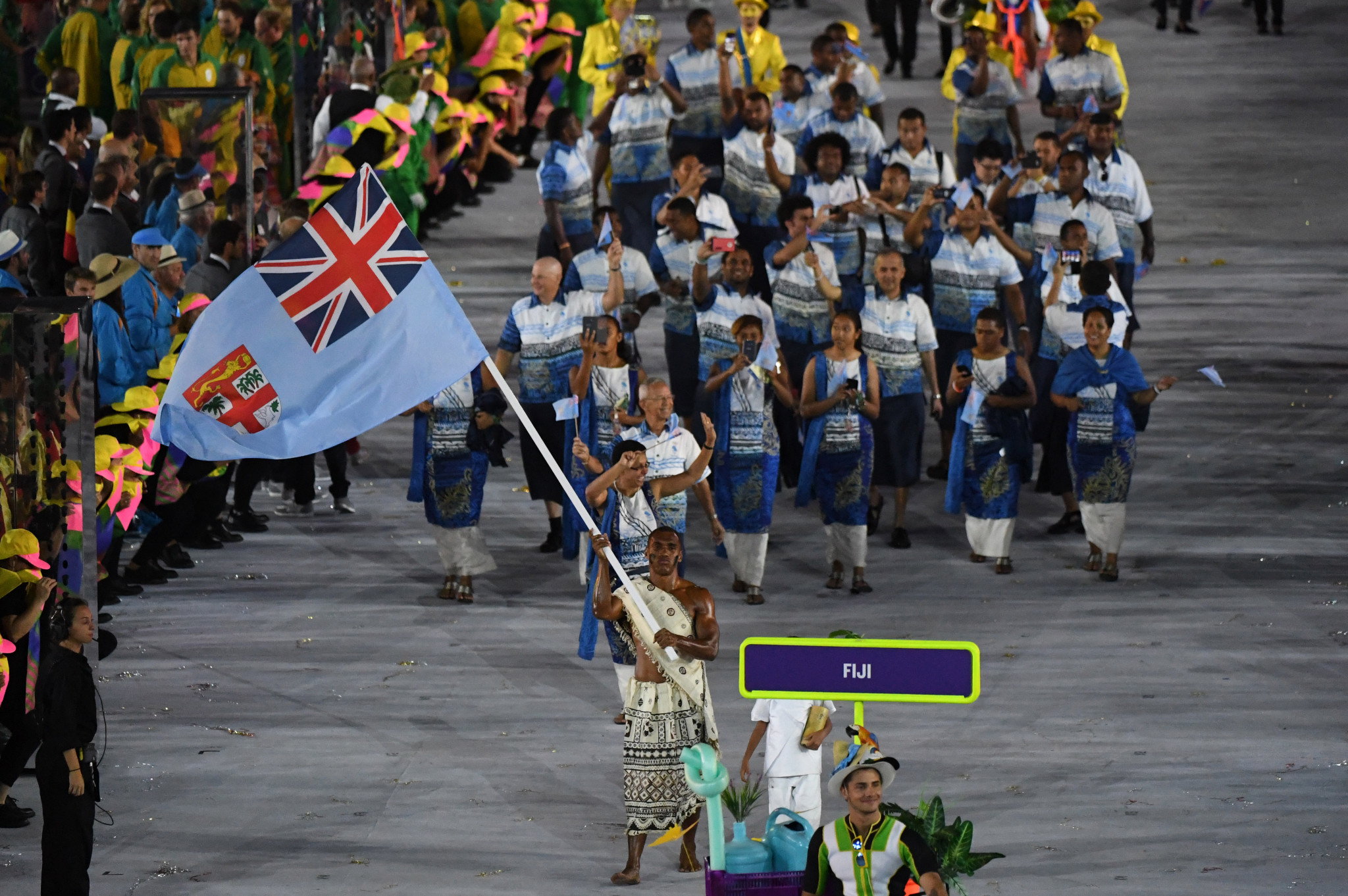 The partnership aims to support the Fijian delegation to Tokyo 2020 ©Getty Images