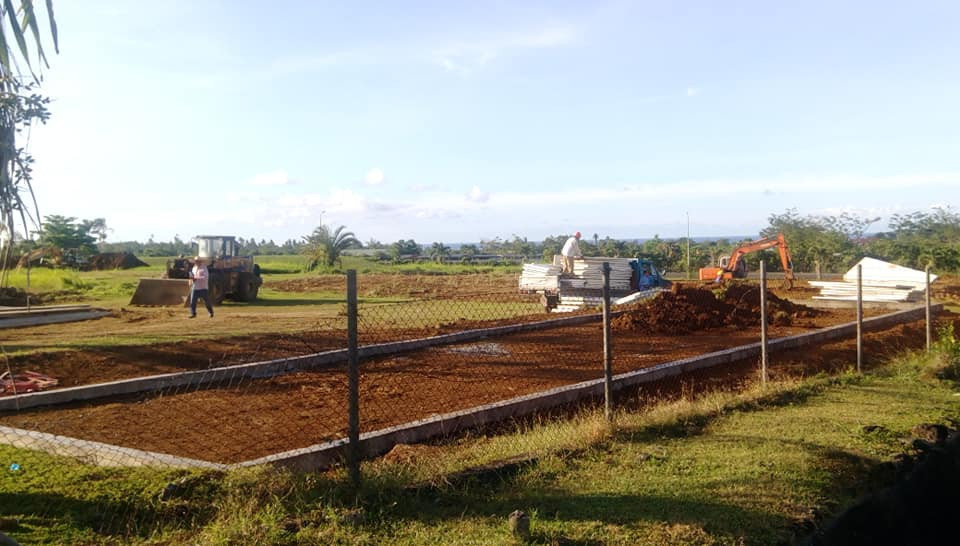 Work begins on gymnasium construction prior to Samoa 2019 Pacific Games