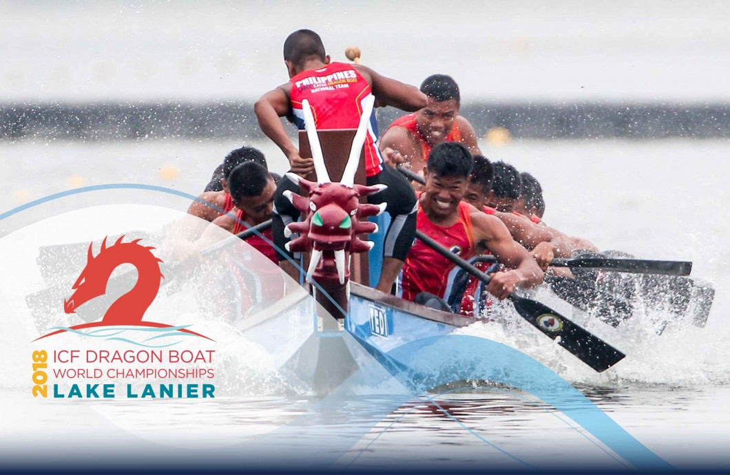 The first International Canoe Federation Dragon Boat World Championships to take place in North America will begin in Lake Lanier in the United States tomorrow ©ICF