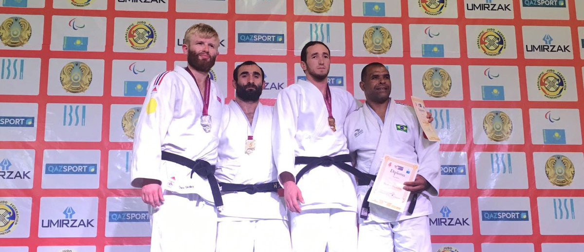 Paralympic champion Zviad Gogotchuri won gold at the World Cup ©IBSA