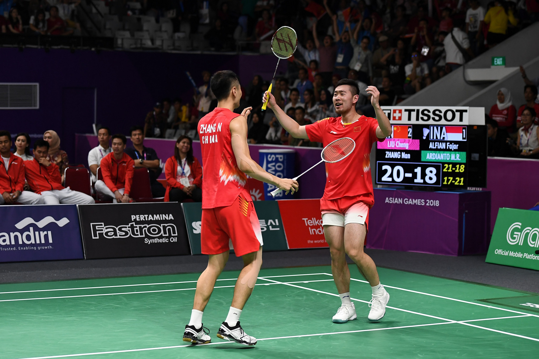 Former world champions suffer round one exit at BWF Japan Open