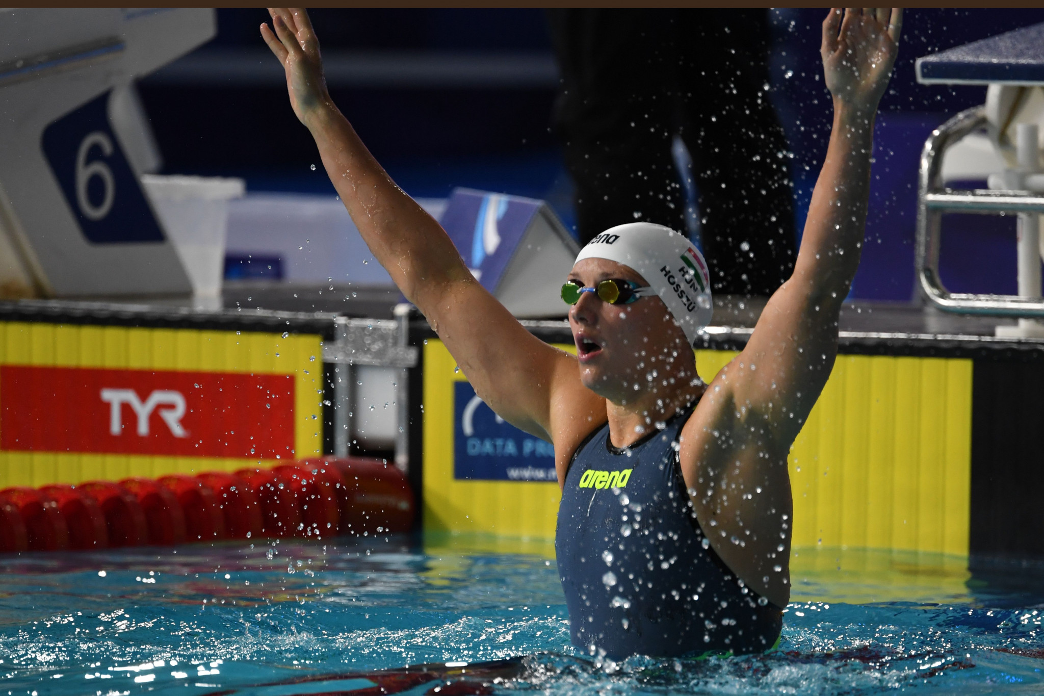 Katinka Hosszu will hope for further success in Doha ©Getty Images