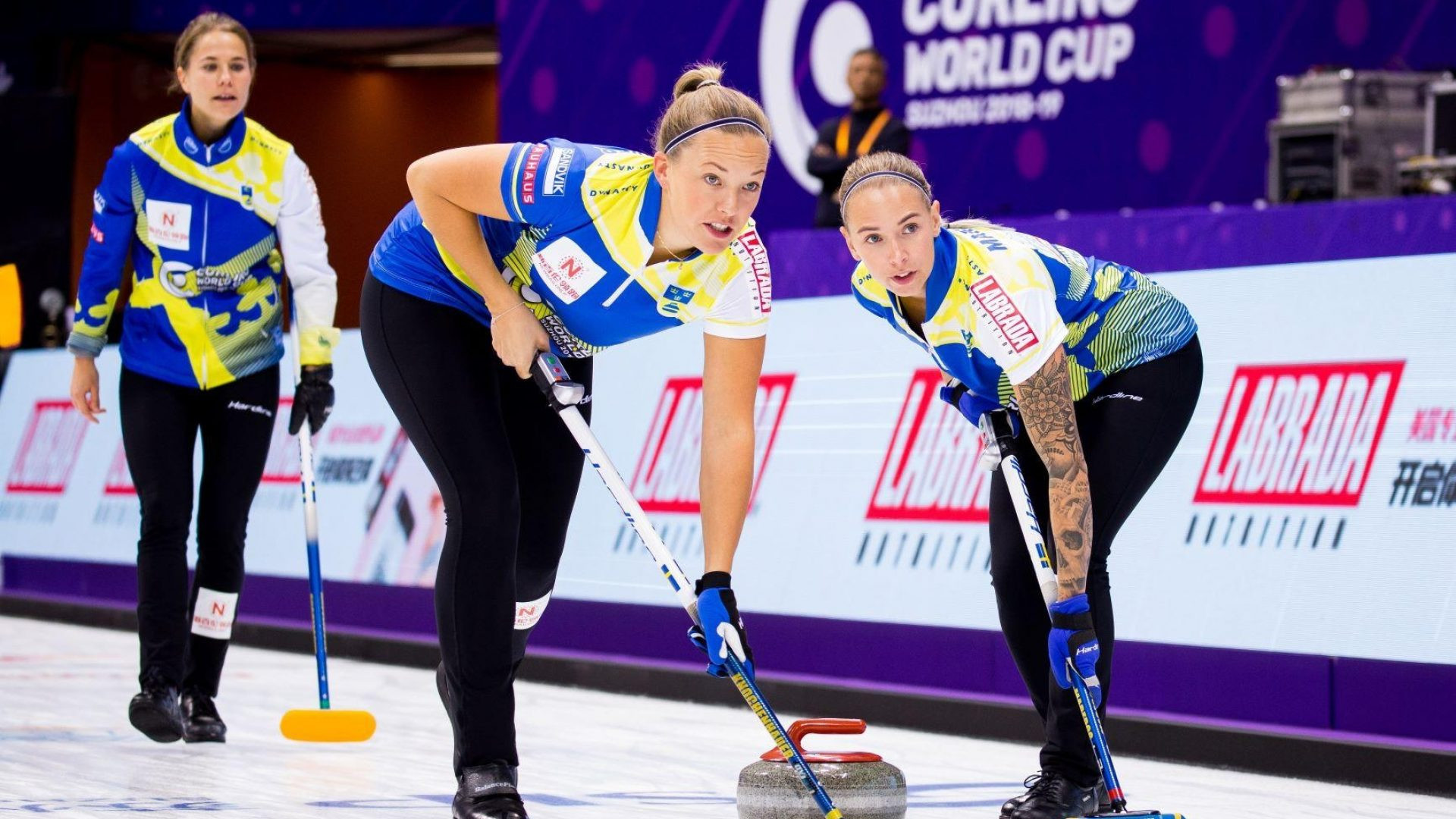 Olympic champion Hasselborg begins new Curling World Cup series with victory