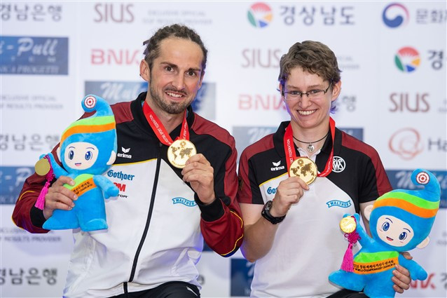 Germany win double gold in target sprint events at ISSF World Championships