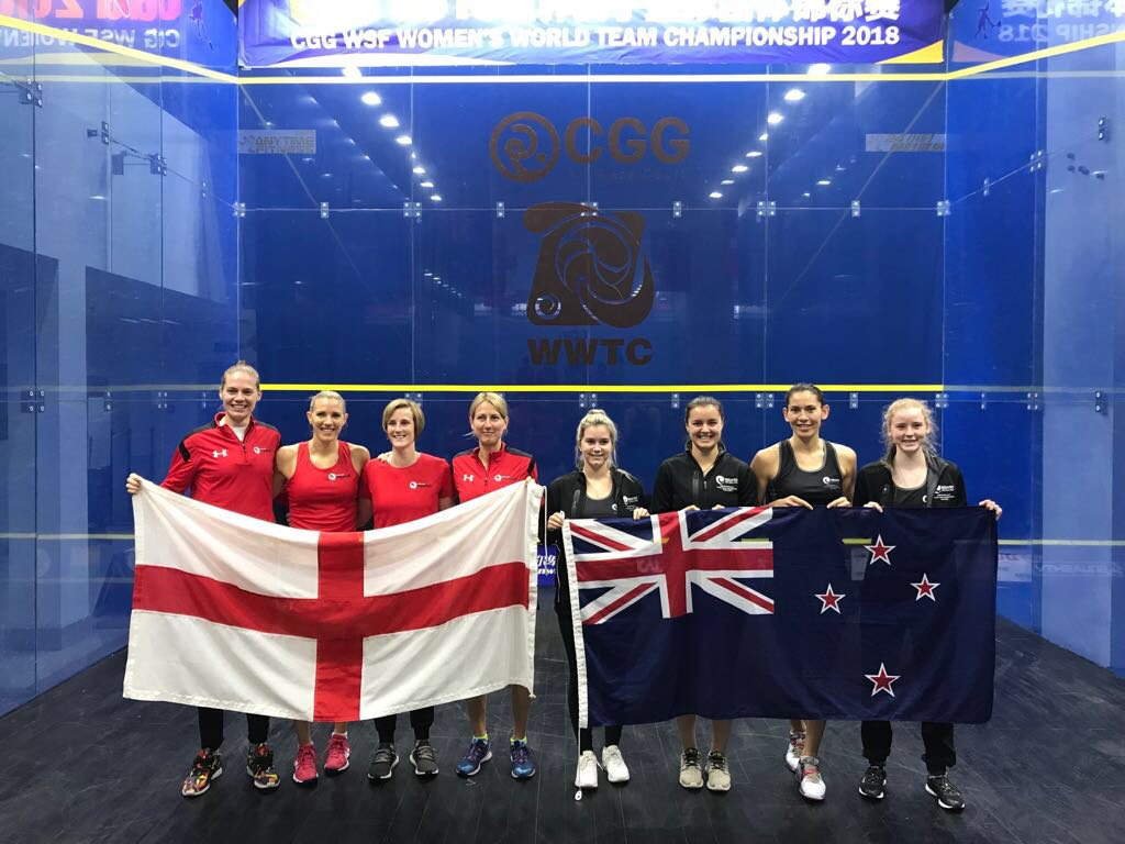 Top four seeds secure quarter final spots at Women's World Team Squash Championships