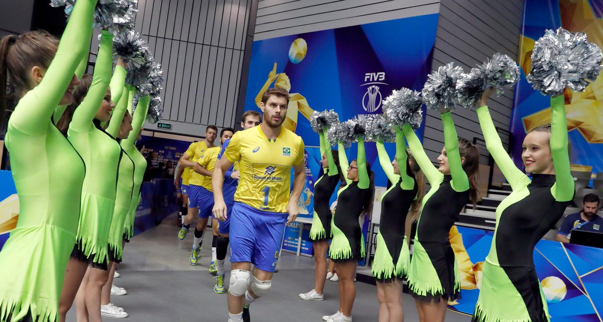 Brazil and Poland make winning starts to Volleyball Men's World Championship