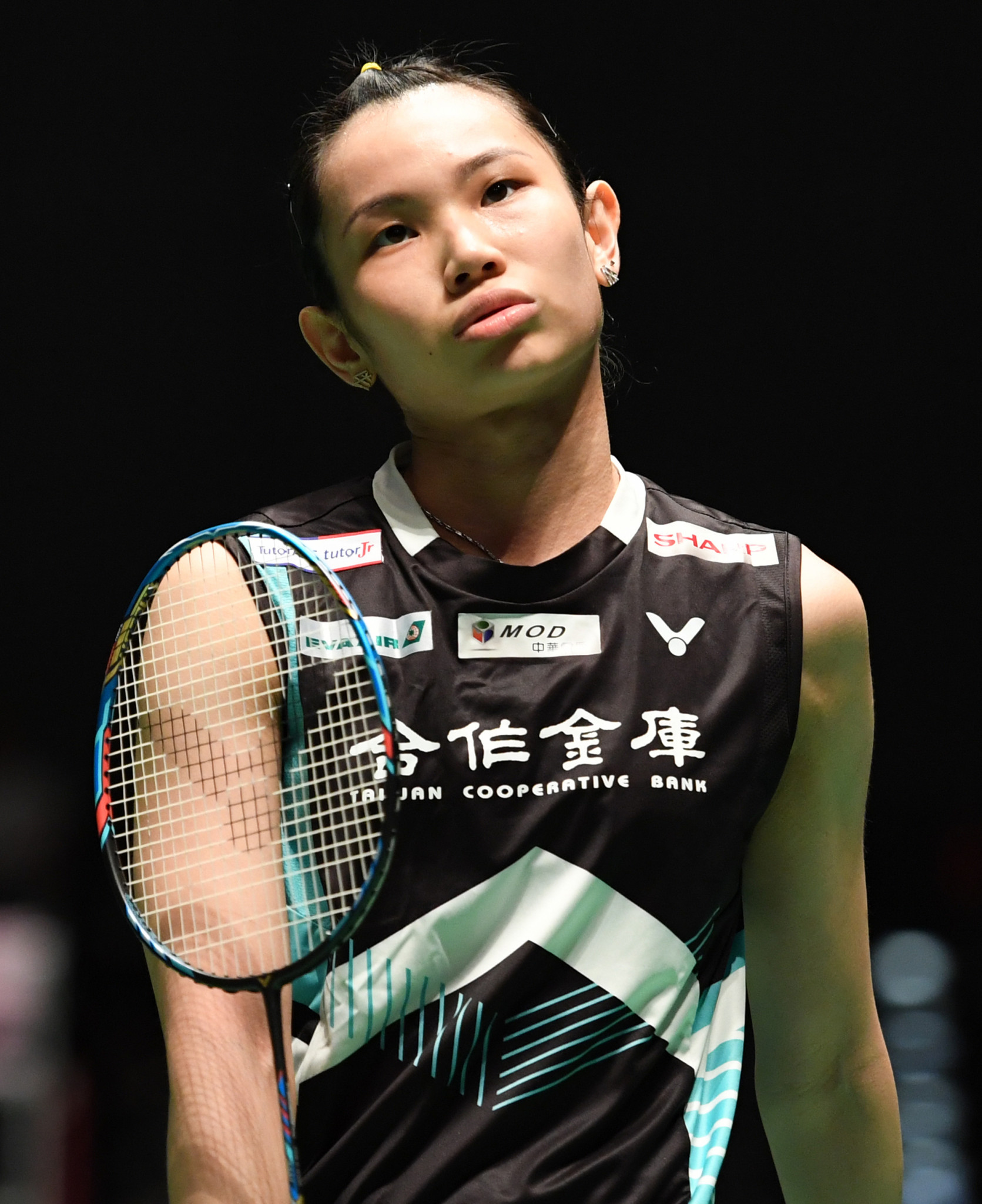 Taiwan's Tai Tzu-ying, the women's top seed, was knocked out ©Getty Images