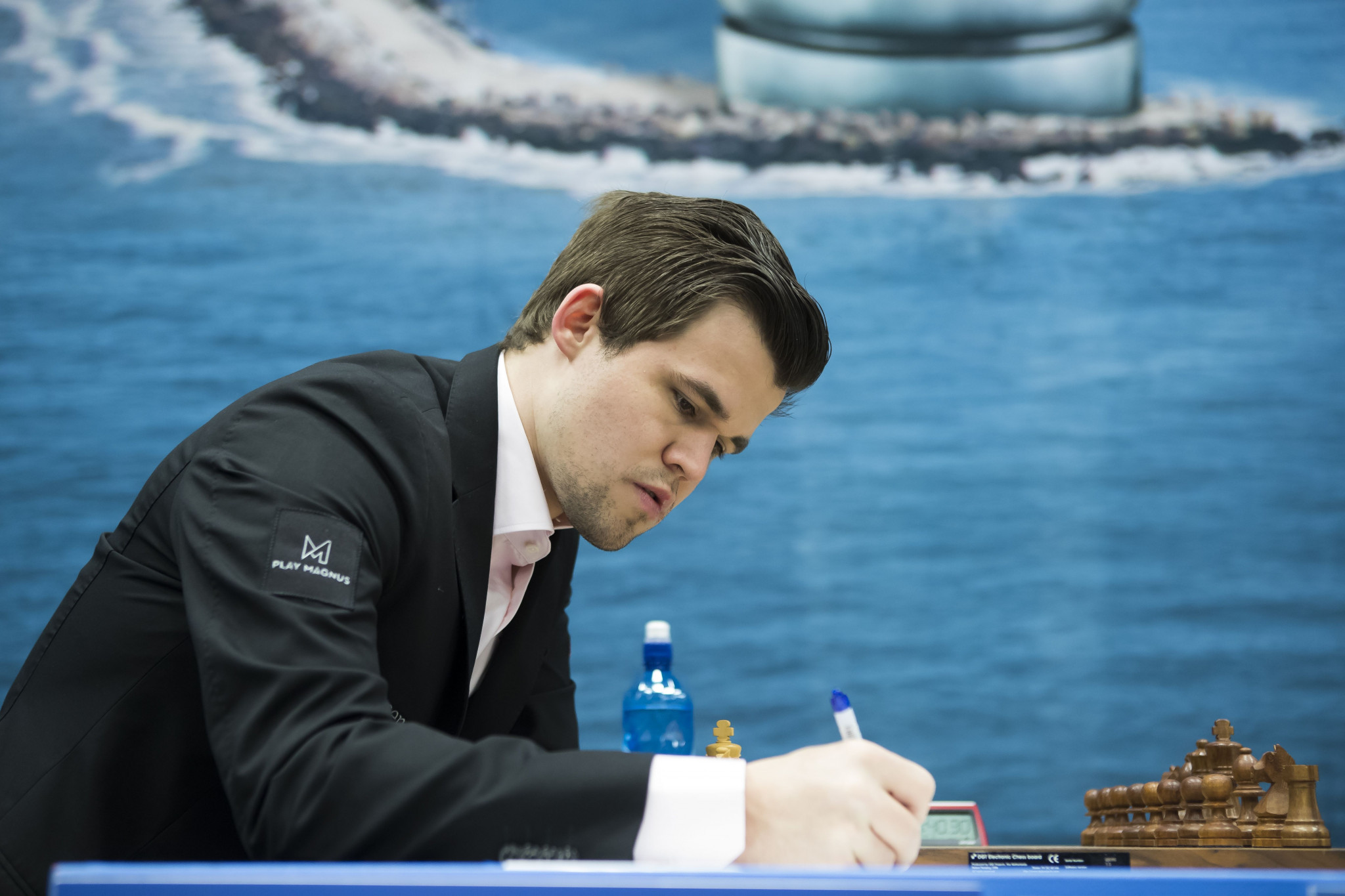 Magnus Carlsen will aim for a fourth successive world title ©Getty Images