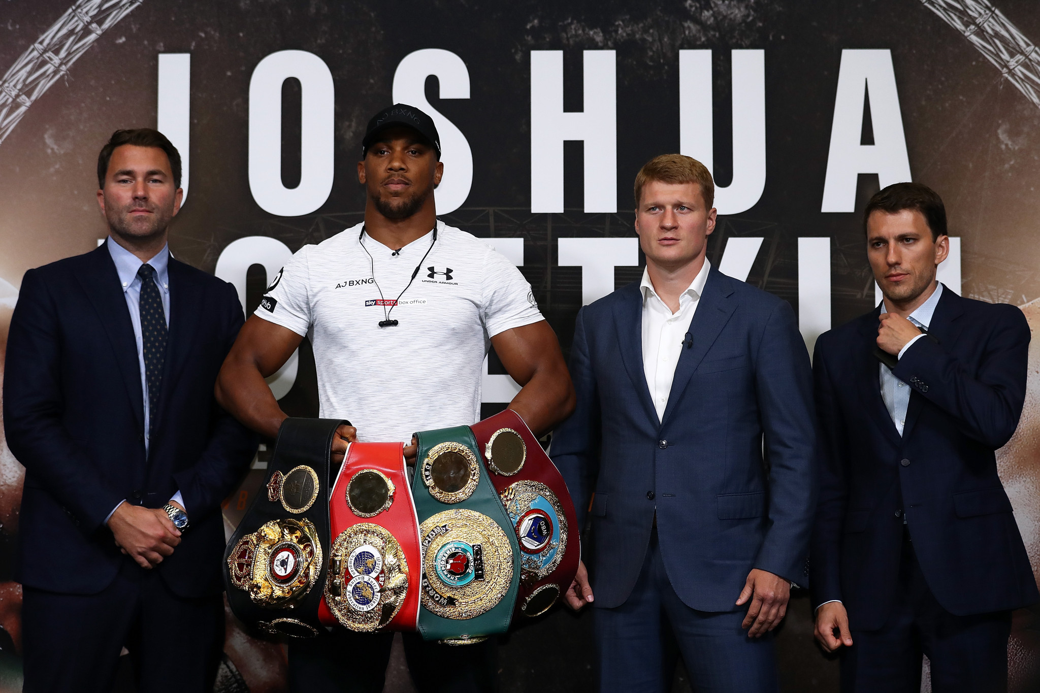 Alexander Povetkin will take on Anthony Joshua at Wembley Stadium next weekend ©Getty Images]