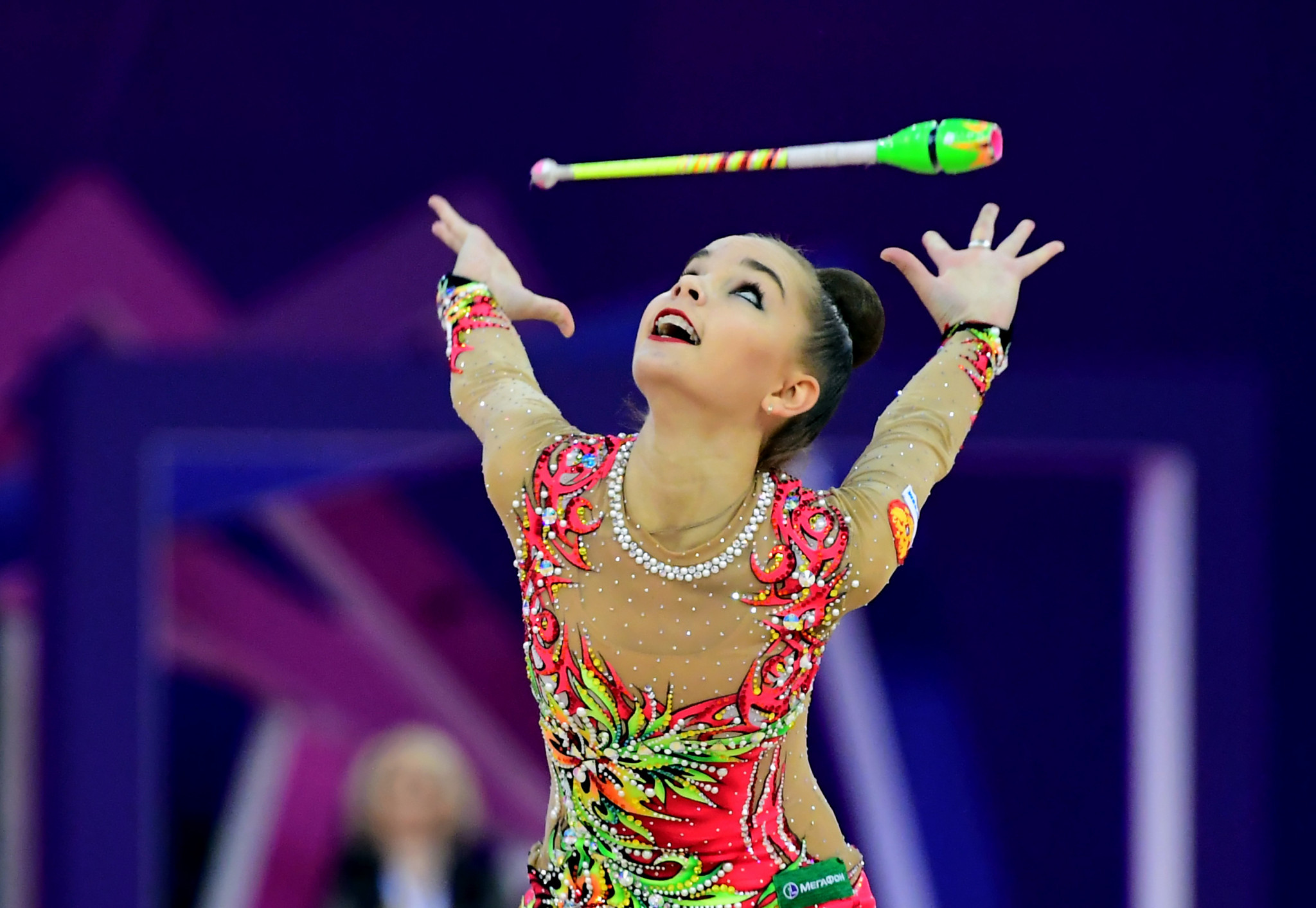 Russian sensation Dina Averina secured her fourth gold medal at the Rhythmic Gymnastics World Championships