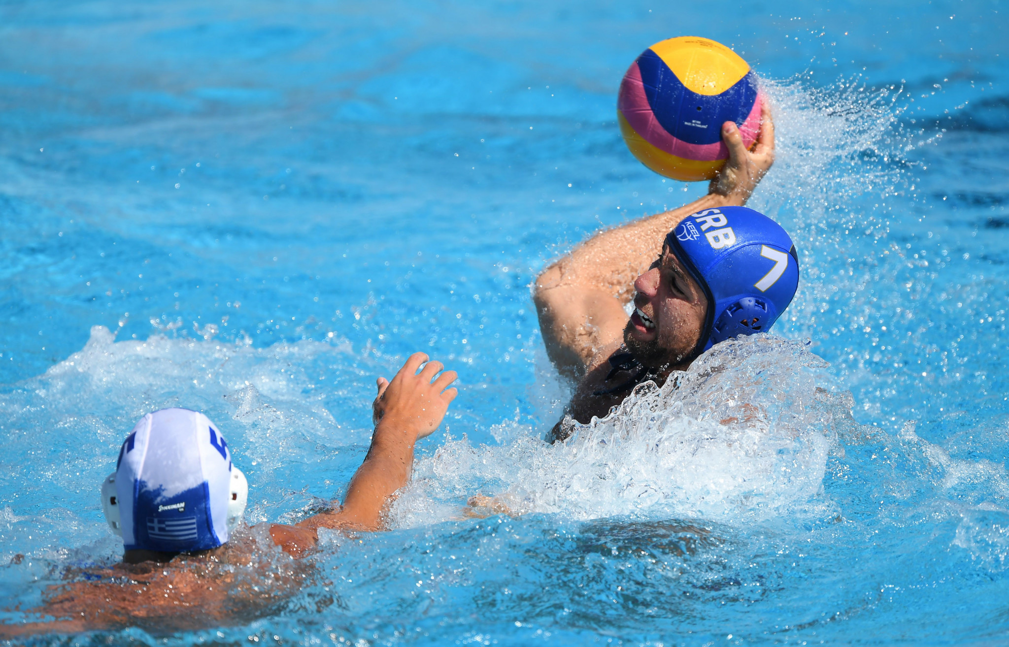 Heavyweights Serbia and Croatia draw at Men's Water Polo World Cup