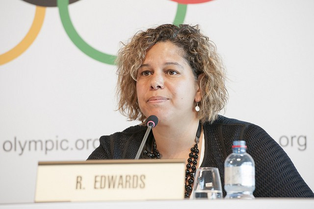 Rebecca Lowell Edwards is leaving as the IOC's strategic communications director after less than 18 months in the position ©IOC