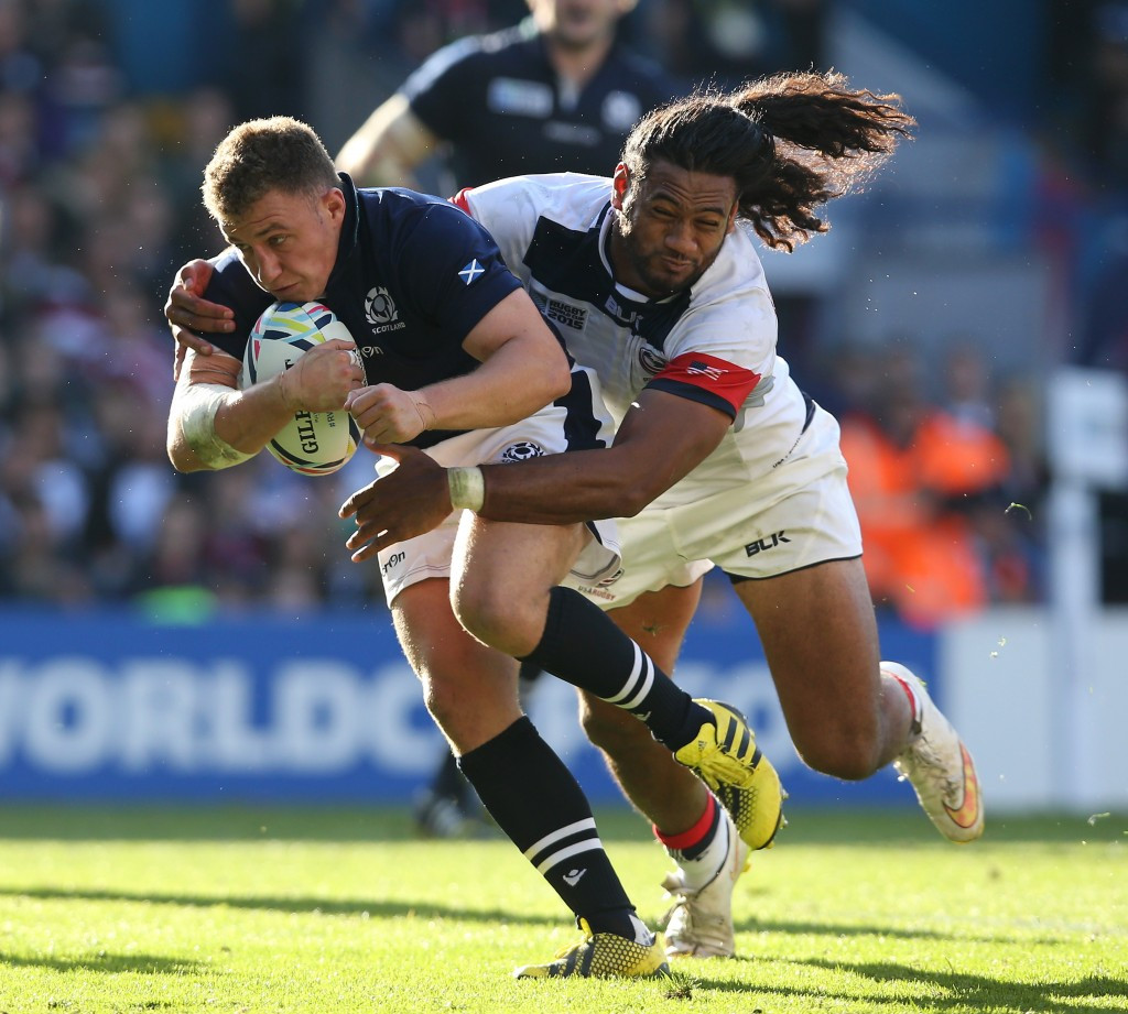 Scotland run riot after the break to avoid USA shock at Rugby World Cup