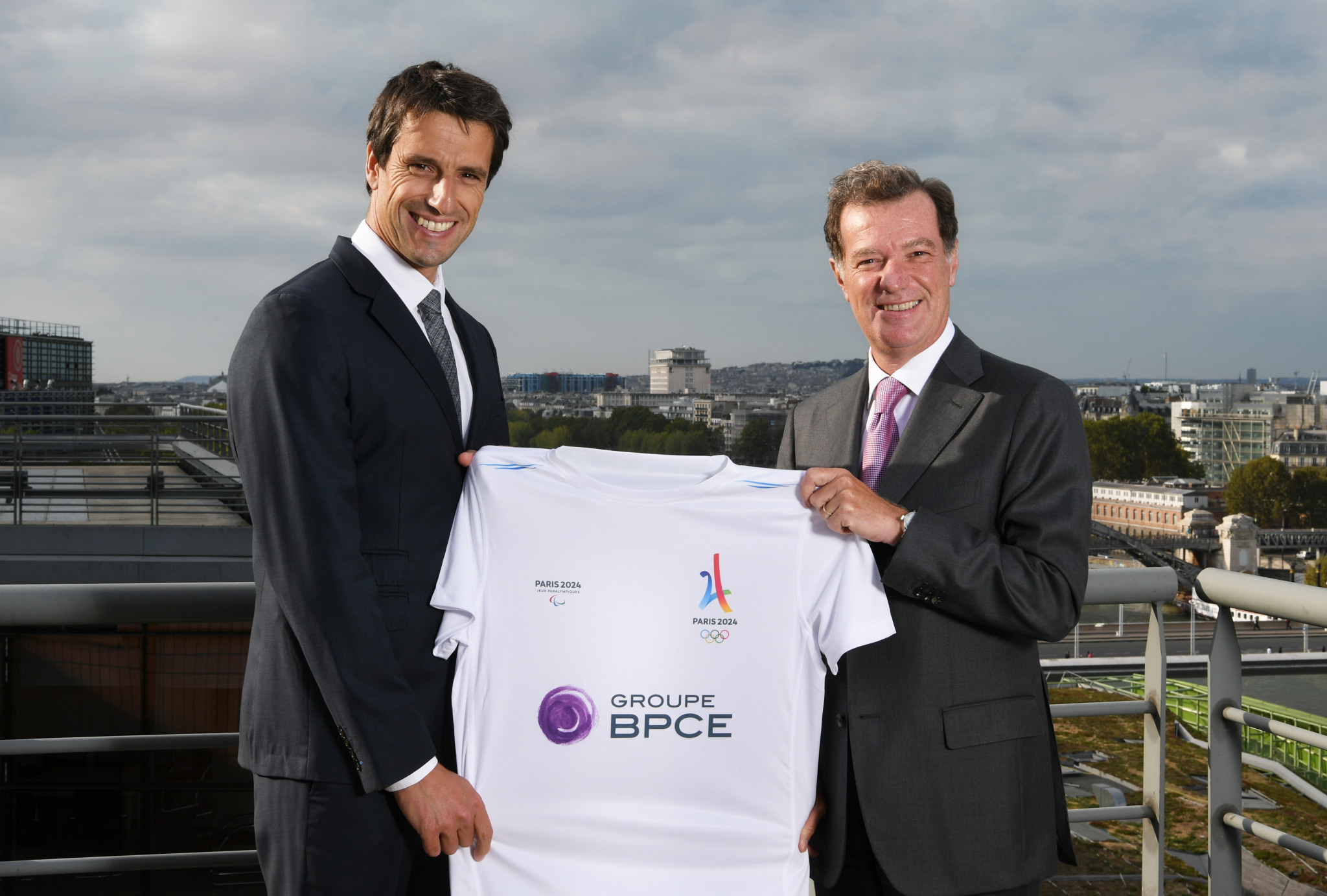 French banking group Groupe BPCE have joined the Paris 2024 national partnership programme ©Paris 2024