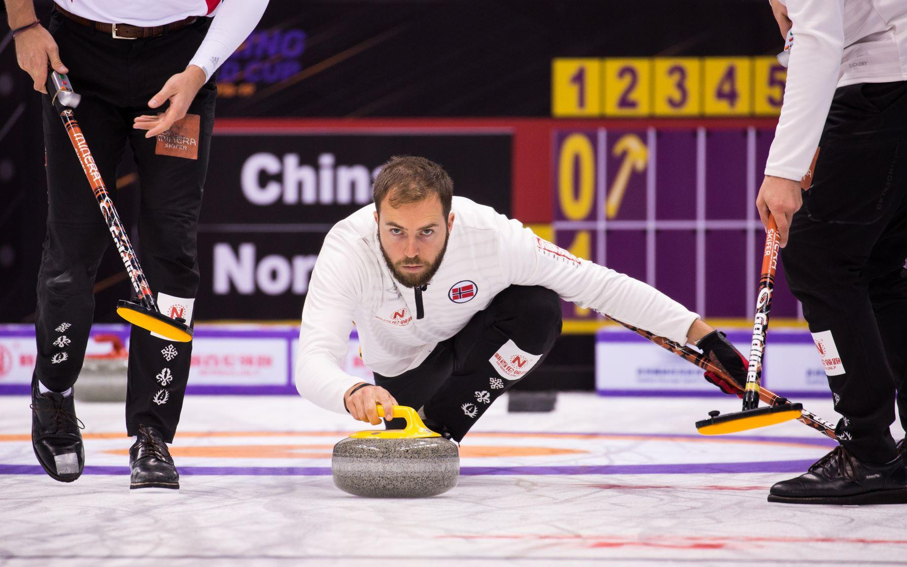 Norway were among the other winners in the men's tournament ©Curling World Cup