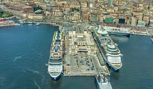 It has already been announced around 4,000 athletes will be housed on two cruise ships in Naples' port during the Games ©Naples 2019