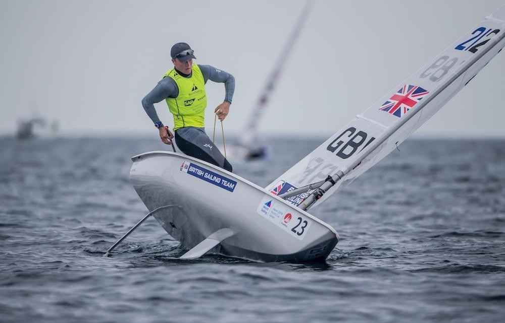 Chiavarini profits as conditions prevent all but laser racing at Sailing World Cup in Tokyo