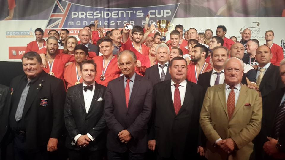 Russia untouchable as they retain their sambo President's Cup title