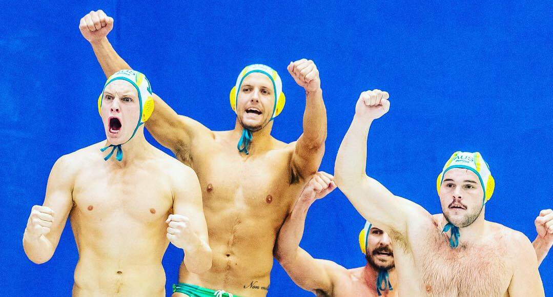 Australia beat world champions Croatia to book their place in the World Cup semi finals ©Australia Water Polo/Twitter