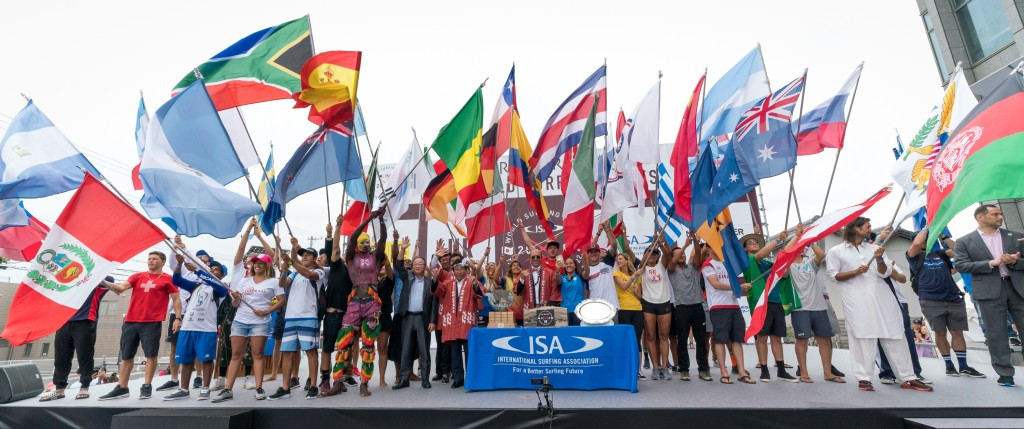 World Surfing Games set to begin in Japan after Opening Ceremony
