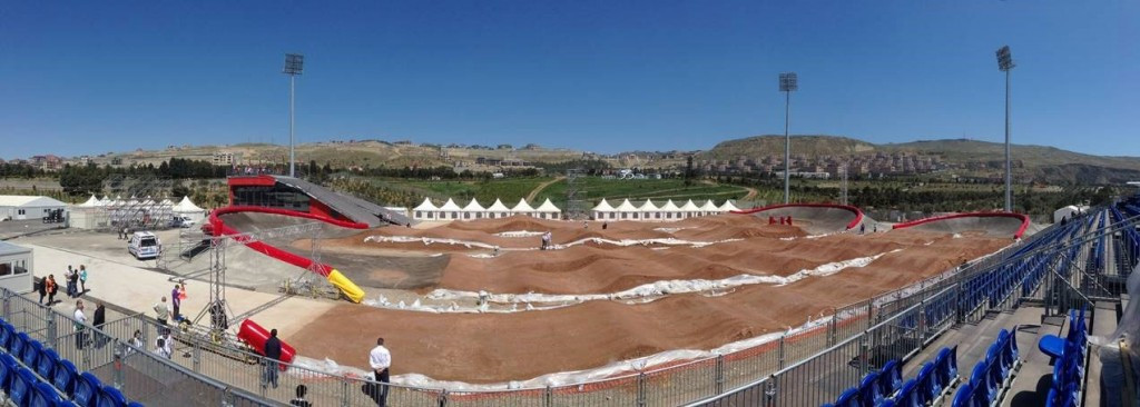 Baku 2015 stage test event at new BMX Velopark as preparations continue for European Games