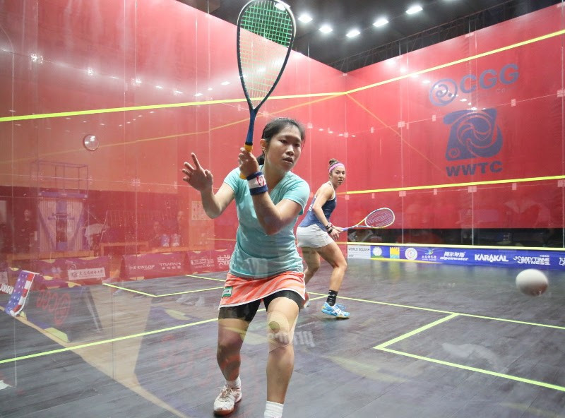 Egypt and England to clash in Women's World Team Squash Championships final